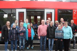 Ausflug mit der Mittelfranken Bahn
