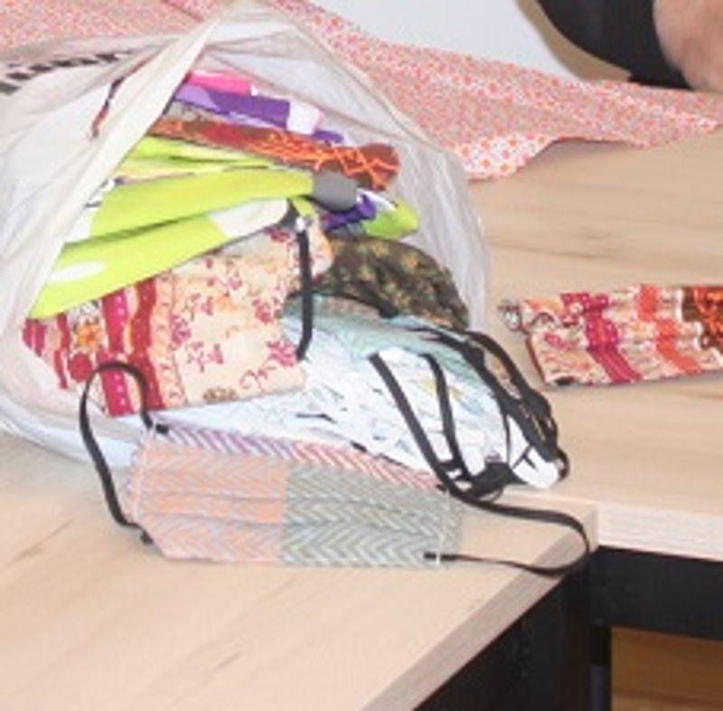 Regens Wagner Michelfeld bedankt sich für 600 selbstgenähte Mundschutzmasken