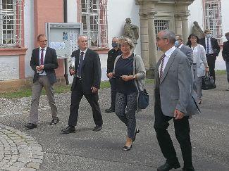 Staatsministerin zu Besuch in Michelfeld